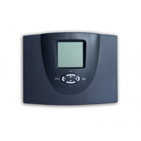 Solarregler SDC 204, Rücklaufanhebung und Umladung, inkl. 2 Temperaturfühler
