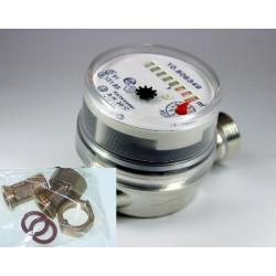 Le débitmètre volumétrique 1,5m³/h 90°C 1Pulse/Litre